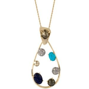 Alexis Bittar 10k plated Large necklace